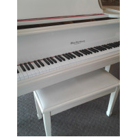 Otto Altenburg White Baby Grand Piano $3,995