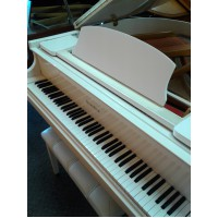 "Wurlitzer C-143, 4'7"" White Baby Grand $3,995"