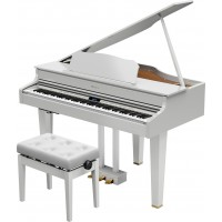 NEW! Roland GP-607 WHITE Grand
