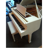 "Pearl River 4'7"" white Baby Grand $3,995"