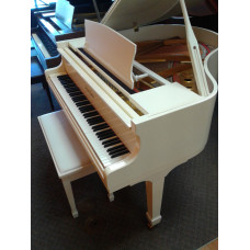 "Pearl River 4'7"" Ivory Baby Grand $3,995"