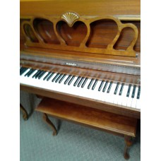 Baldwin Cherry French Provincial Console $1,895